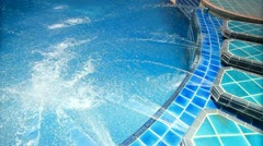 Swimming pool Stock Footage