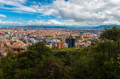 Bogota, Colombia Cityscape - stock photo