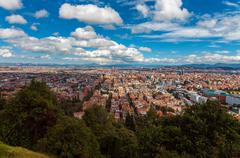 View of Bogota, Colombia Stock Photos