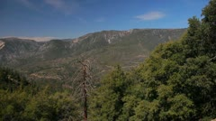 Valley Pan in San Bernardino National Forest Stock Footage