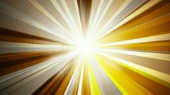 Volumetric golden rays Stock Footage