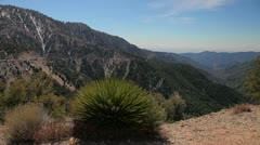Angeles Crest Highway Scenery Stock Footage