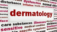 Dermatology health care medical animation Stock Footage