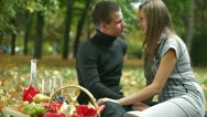 Proposal of marriage Stock Footage