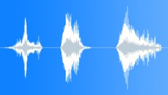 Creaky mutant roars - sound effect