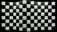 Stock Video Footage of Mograph chequered ripple