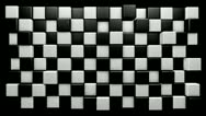 Stock Video Footage of Mograph chequered cubes