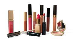 Makeup and cosmetics Stock Photos