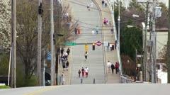 Walnut St Bridge MS - stock footage
