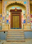 mandawa haveli - stock photo
