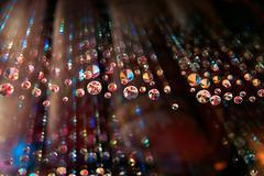 swarm of diamonds - stock photo