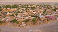 jaisalmer evening - stock photo