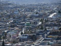 juarez mexico hillside barrio - stock photo