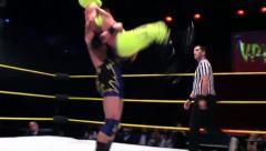 Sports: Pro Wrestling Match - Back Suplex - stock footage