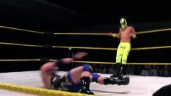 Sports: Pro Wrestling Botch / Accident... Painful - stock footage