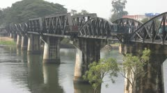 River Kwai Bridge p76 Stock Footage
