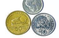 Stock Photo of former european currency of greek