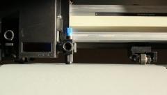 Cutting Plotter Stock Footage