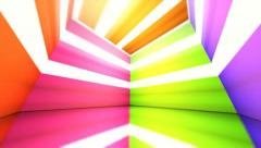 Magical and colorful box 14 Stock Footage