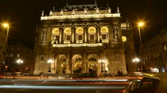 Hungarian Operahouse 2013 - stock footage