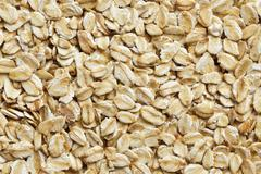 Oatmeal background Stock Photos