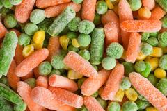 Frozen vegetable Stock Photos