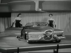 "GM Le Sabre ""Idea Car"" 1 (1953) Stock Footage"