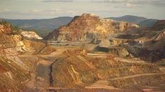 Mining - Rio Tinto - Spain Stock Footage