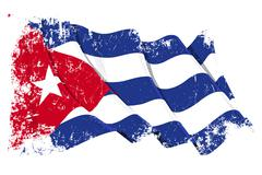 Grange Flag of Cuba Stock Illustration