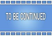 The Word To Be Continued on Film Strip Stock Illustration