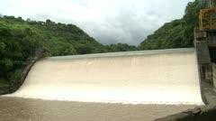 Hidroelectric Dam Stock Footage