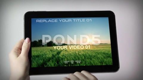After Effects Project - Pond5 TABLET 22113401