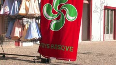 Village D'Ainhoa - Basque Village in Pyrenees - stock footage