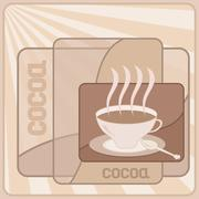 Cup of cocoa Stock Illustration