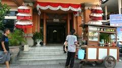 Street Bali - stock footage