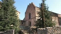 Abbey St-Michel-de-Cuxa, Monastery in France Stock Footage