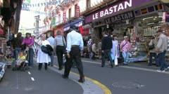 Pilgrimage Lourdes in France - stock footage
