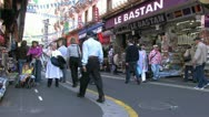 Stock Video Footage of Pilgrimage Lourdes in France