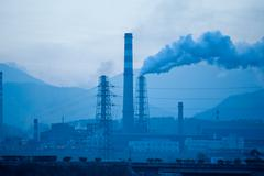 China petroleum and chemical plant Stock Photos