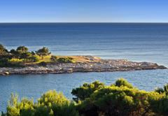 mediteranean coast - stock photo