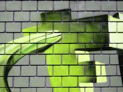 Grunge brick wall Stock Illustration