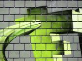 Grunge brick wall Stock Illustration