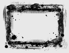 Stock Illustration of grunge border