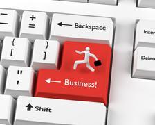 Business man concept - stock photo