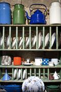 Vintage cupboard Stock Photos