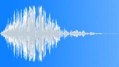 whoosh: medium, slow, break down - sound effect