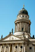 french dome in berlin - stock photo