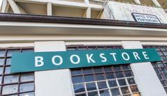 Bookstore at alcatraz island Stock Photos