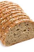 whole wheat bread - stock photo
