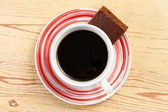 Stock Photo of sweet chocolate dessert